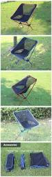 Camping Chair Accessories Outdoor Portable Folding Chair Camping Hiking Beach Seat Stool For