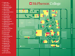 Student Map Login Mcpherson College Map U0026 Directions