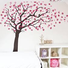 cherry blossom tree with birds wall sticker vinyl impression cherry blossom tree with birds in by vinyl impression