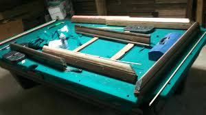 refelting a pool table pool table refelt hed nd tke rils f rchet cme flt refelting atlanta