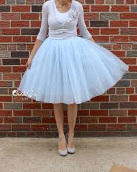 clarisa blue gray tulle skirt u2013 midi tulle skirts blue grey and