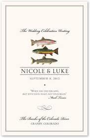 classic wedding programs flourish monogram 01 contemporary and classic wedding programs
