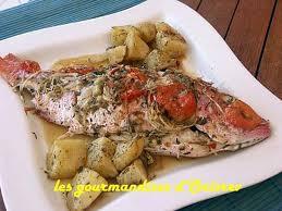 plat cuisiné au four recette de poisson au four en toute simplicité vivaneau ou dorade