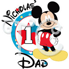 mickey mouse 1st birthday mouse 1st birthday parents personalized t shirt