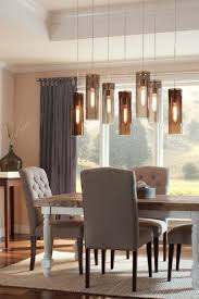 Hanging Pendant Lights Over Dining Table by Lights For Dining Room Provisionsdining Com
