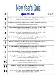 english teaching worksheets new year