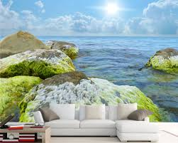 removable wall murals for popular tropical med art home design image of removable wall murals beach