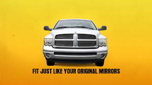 dodge ram tow mirror glass replacement 2002 2009 dodge ram towing mirrors with power glass and heated