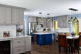 gray kitchen cabinets blue island kitchen renovation coon rapids mn julkowski inc