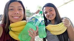 Challenge Vomit Banana And Sprite Challenge Vomit Alert