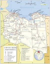 Africa Regions Map by Libya Administrative Regions Map Libya Africa U2022 Mappery