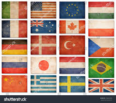 Flag Rsa Grunge Flags Usa Great Britain Italy Stock Illustration 196004450