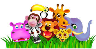 safari cartoon safari playtime wall sticker jungle themes shop fun decor