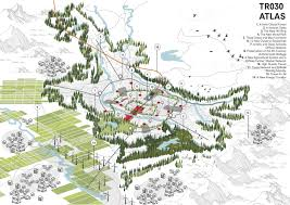 Studio City Map Gallery Of Tirana 2030 Watch How Nature And Urbanism Will Co