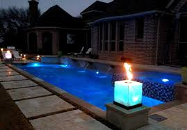 Dallas Landscape Lighting Outdoor Features Contemporary Pool Dallas By Dallas