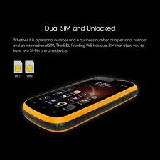 amazon com e u0026l w5 rugged unlocked smartphone with wateproof ip68
