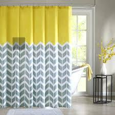 Yellow And White Shower Curtain Grey Chevron Shower Curtain Canada Yellow White