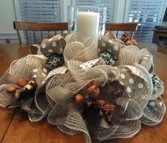 mesh ribbon table decorations how to make burlap and mesh wreaths deco mesh ribbon mesh ribbon