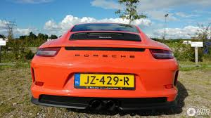 Porsche 911 Orange - porsche 911 r 10 august 2016 autogespot