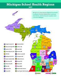 Jackson Michigan Map by Where Michigan Health Coordinators U0027 Association Mishca