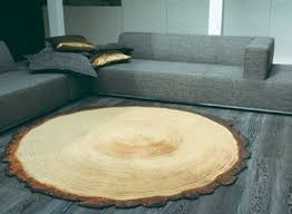Modern Nature Rugs Nature Inspired Wood Rug