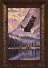 home cabin decor art and frames