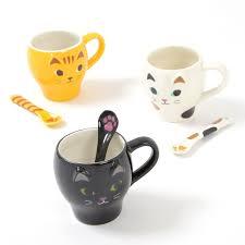 nyao mug u0026 paw spoon tokyo otaku mode shop