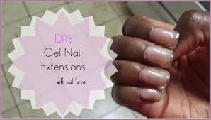 hypnotic glamour beauty blog gel nail extensions with nail forms
