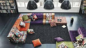 roche bobois stylish and functional mah jong modular sofas