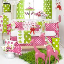 Baby Girl Nursery Bedding Set by Elegant Girl Crib Bedding Set Modern Girl Crib Bedding Set