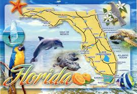 Map Of Florida by Detailed Tourist Map Of Florida State Florida State Detailed