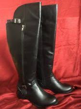 womens black knee high boots size 11 fitzwell princeton wide calf black knee high boots womens boots