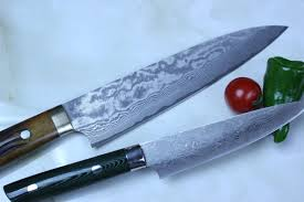 damascus kitchen knives takeshi saji vg 10 custom damascus wild series