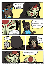 Legend Of Korra Memes - under the mask avatar the last airbender the legend of korra
