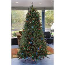 equinox 7 5 pre lit led retro pine artificial tree