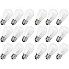 outdoor incandescent light bulbs newhouse lighting outdoor s14 incandescent replacement string bulbs