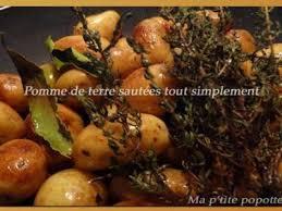 comment cuisiner les pommes de terre de noirmoutier pomme de terre de noirmoutier tout simplement recette ptitchef