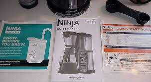 ninja coffee bar clean light wont go off ninja coffee bar system review smart choices for the home