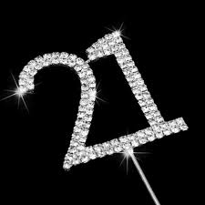 rhinestone cake toppers rhinestone cake decoration number 16 monogram cake toppers