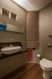 Powder Room Modern 50s Décor Meets Modern Flair Inside Rejuvenated Brazilian Penthouse