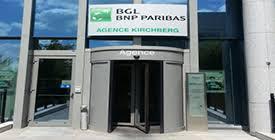 siege social et vacances agence kirchberg bgl bnp paribas luxembourg
