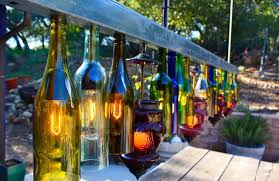 How To Make A Chandelier Out Of Beer Bottles 60 Creative Diy Glass Bottle Ideas For Your Outdoor Living Space