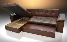 Leather Corner Sofa Beds Uk by Leather Corner Sofa Bed Mike Universal Hand Brown