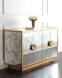 mirrored buffet table pottery barn antique mirrored buffet tables