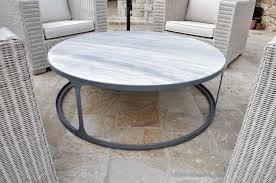 metal frame coffee table coffee table in metal frame and marble top alberto artuso corfu
