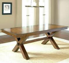 trestle dining table with bench restoration hardware round dining table nomobveto org