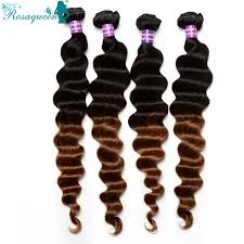 ombre hair weave african american aliexpress com buy two tone 1b 30 ombre hair extensions 6a
