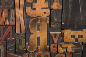 letterpress printing a vintage letterpress printing block wall sculpture at 1stdibs
