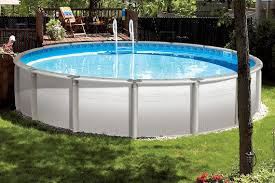 Backyard Landscaping Ideas With Above Ground Pool Types Of Above Ground Pools Above Ground Pool Options