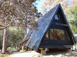 A Frame House by Black A Frame Cabin Close To Yosemite Vrbo